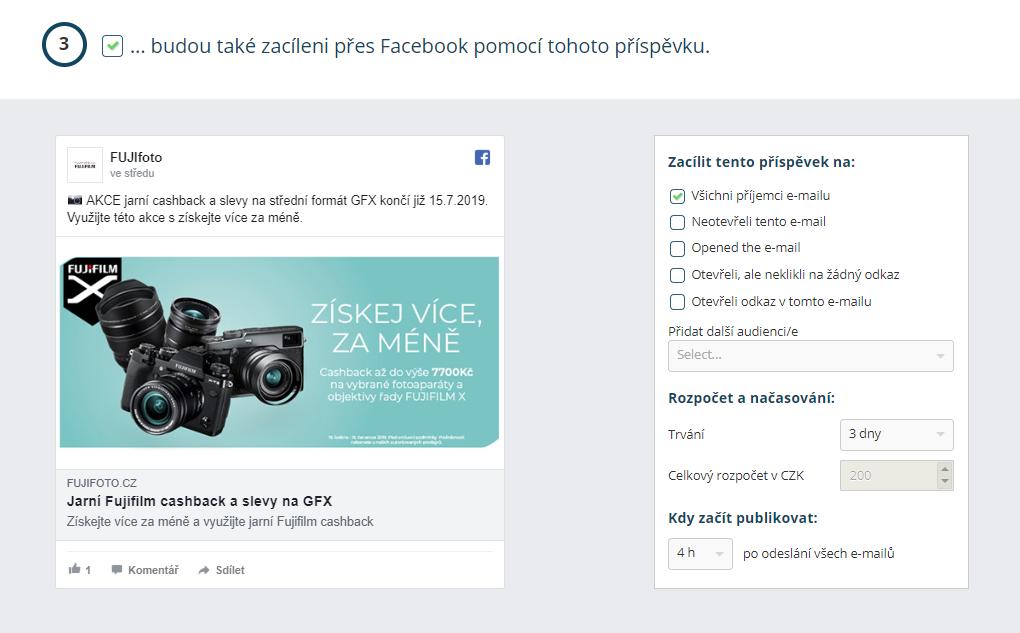 Propojení Leadhubu s Facebookem a cílení newsletteru
