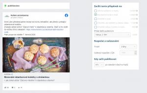 Cílení na Facebooku